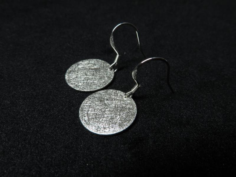 Ohrringe Plättchen