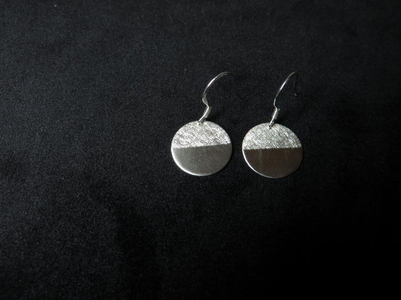 Ohrhänger aus zwei Hälften