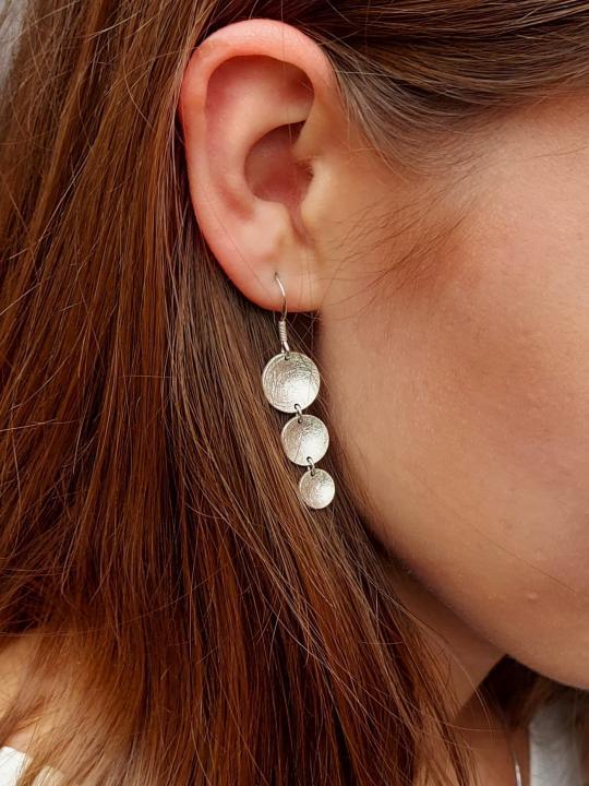 Echt Silber Ohrringe