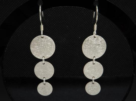 Lange Ohrringe Silber