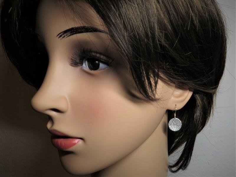 Ohrhänger mit Muster