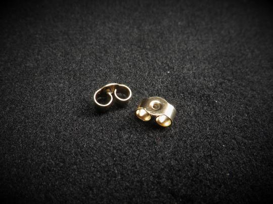 Ohrmutter gold 375
