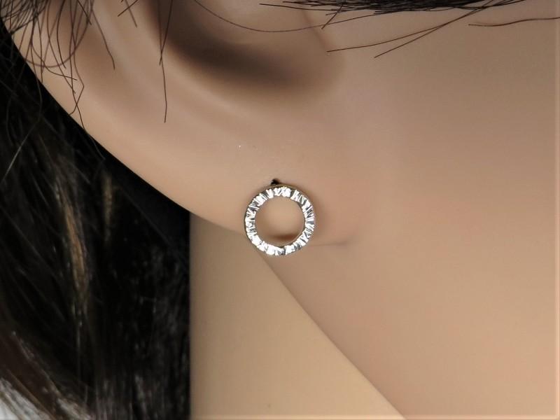 Ohrringe Kreis