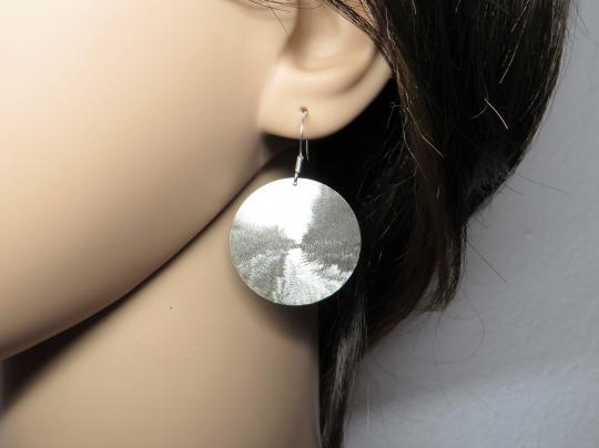 Ohrringe rund Silber