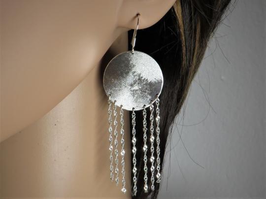 Ohrringe Silber hängend