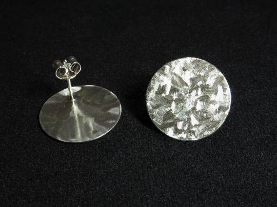 Ohrstecker Silber groß