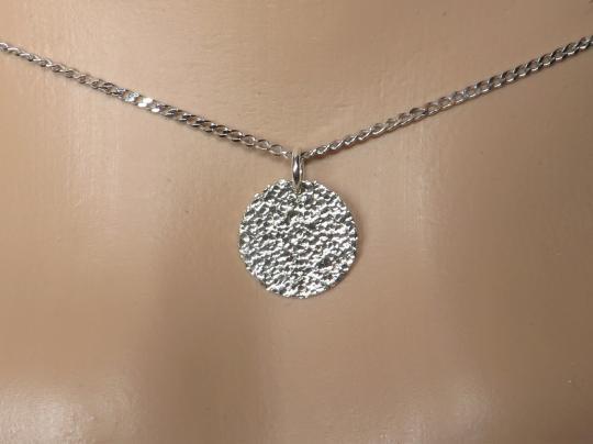 Plättchenkette Silber