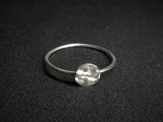 Ring Silber dünn