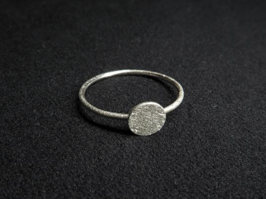 Ring Silber schlicht