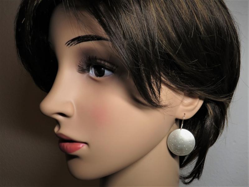 Ohrringe groß Silber